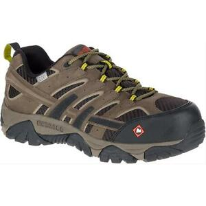 442d5b9d Details about Merrell Newest Men's J15773 Moab 2 Composite Toe Waterproof  Safety Work Shoes