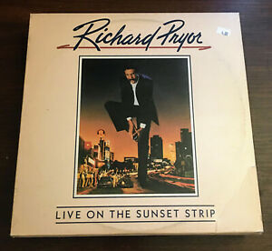 Richard-Pryor-Live-On-The-Sunset-Strip-Vinyl-LP-Record-Album-BSK-3660