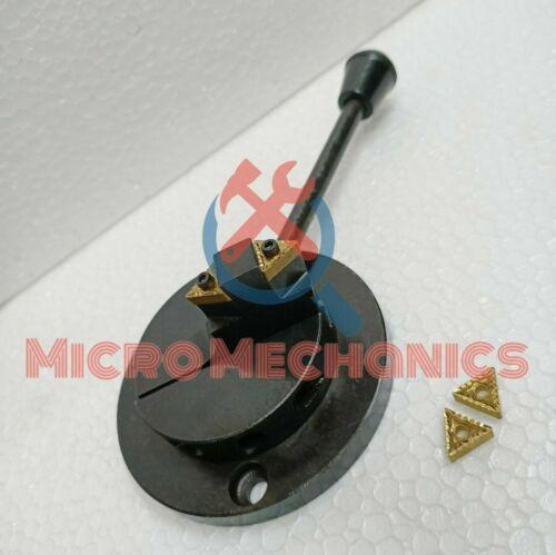 Double Insert Lathe Machine Ball Turning Tool Post Myford,DIY,Hobbyist,Engineers