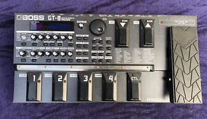 Boss GT8 Electric Guitar Effects Processor Pedal Board System