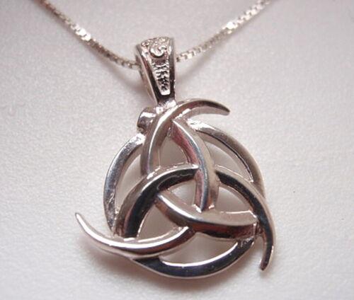Celtic Arc Triangle Pendentif Argent Sterling 925 Corona Sun Jewelry