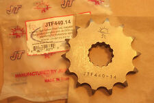 SUZUKI GSXR1100 SLABSIDE NOS PATTERN FRONT SPROCKET (14T) - FREE UK POST