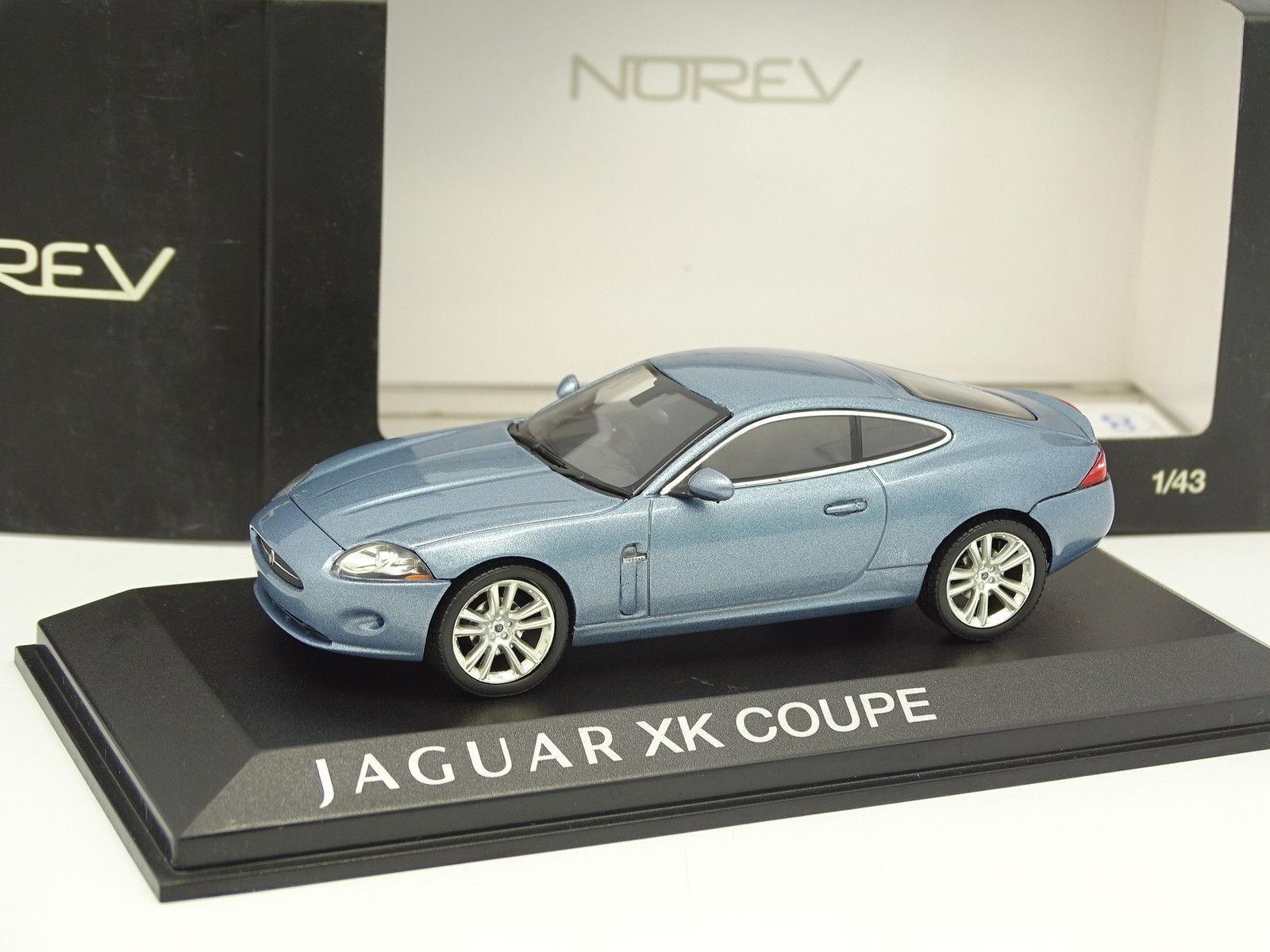 Norev 1 43 - Jaguar XK Coupe Bleue