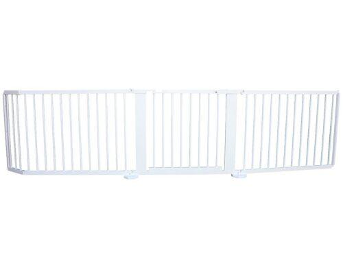 Schutzgitter Absperrgitter Türgitter Treppenschutzgitter 300 cm massiv weiss