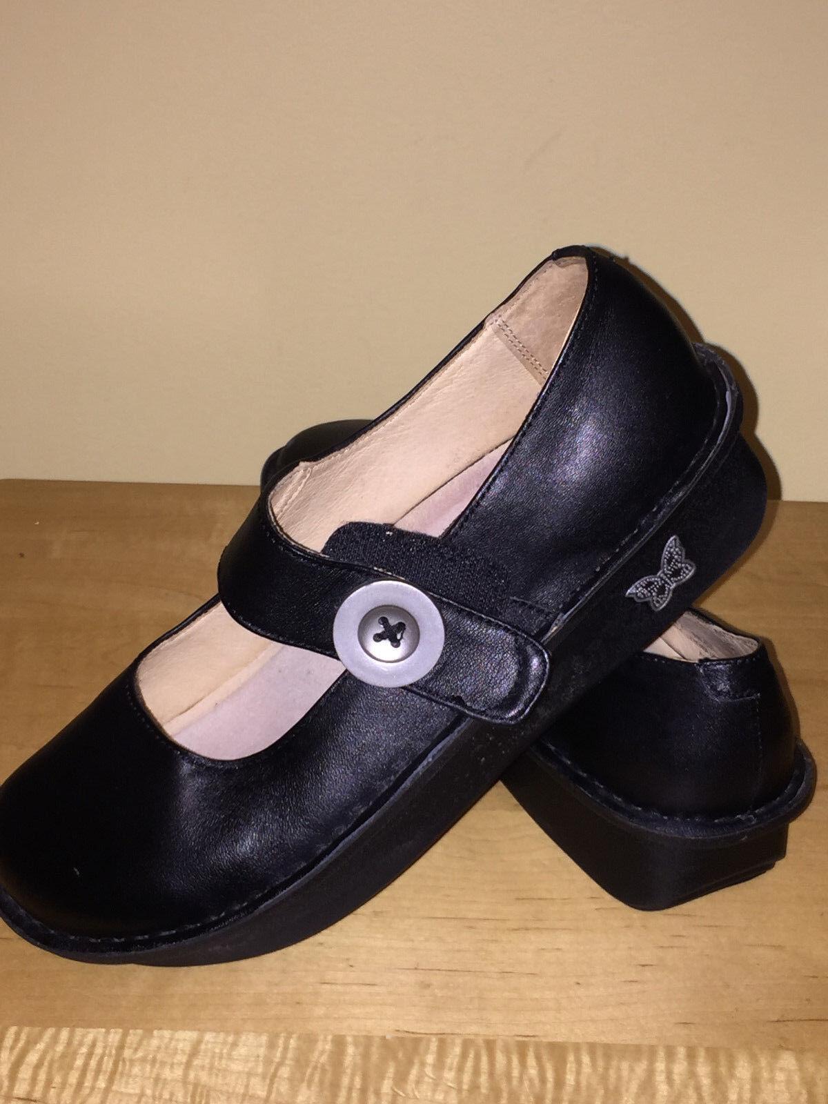 Alegria PAL-601 PAL-601 PAL-601 (Black Leather Mary Janes) Women's Size 38 U.S. Size 8-8.5 df54e5