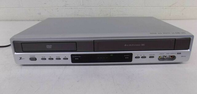 Zenith ZDX313 4-Head Hi-Fi Stereo VHS VCR & Progressive Scan DVD Player GREAT