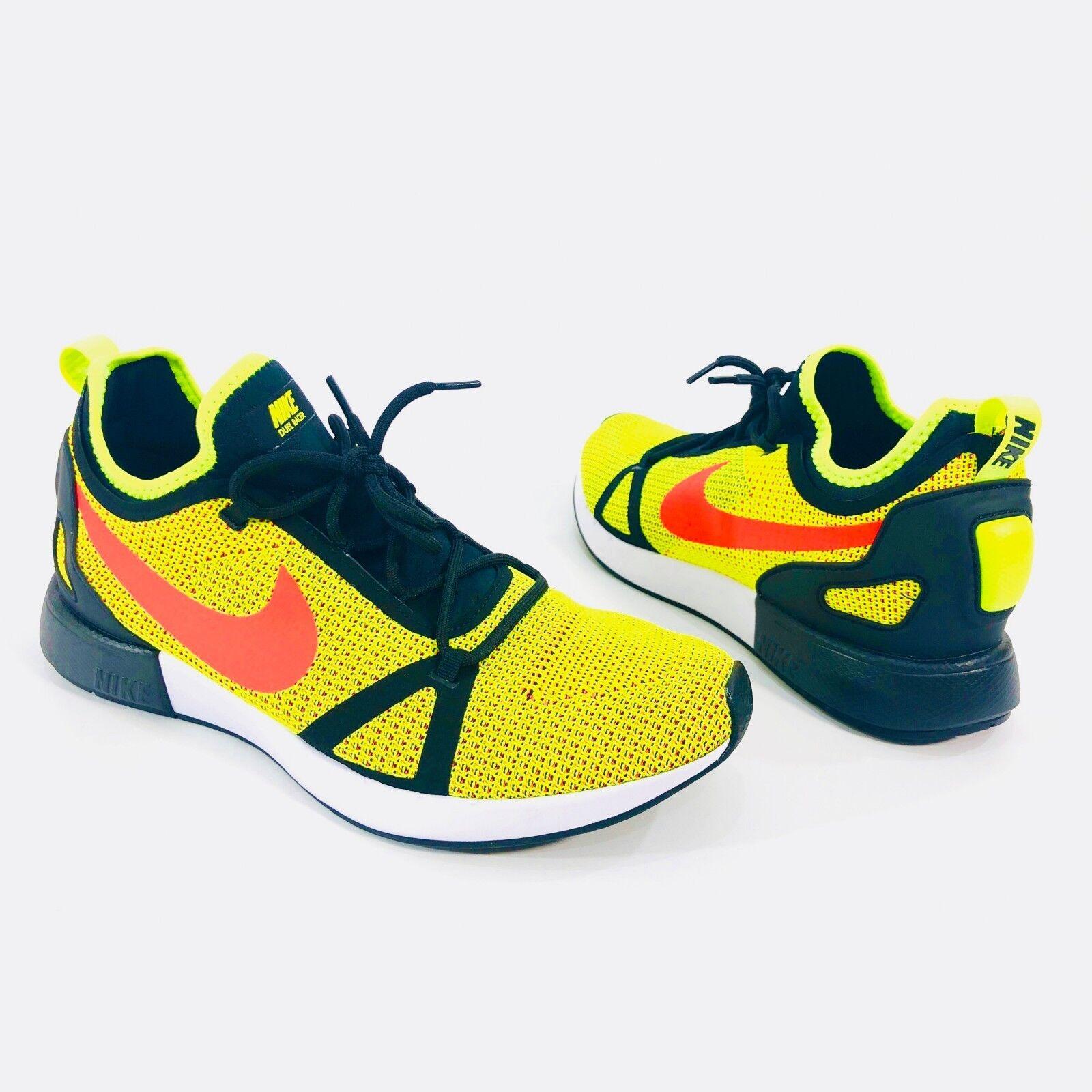 ea6450e85a992 Nike Duel Racer Mens Size 10.5 Volt Bright Crimson Black Running Shoe  918228-700