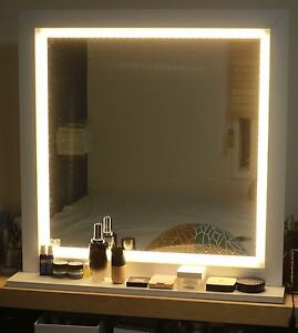 Led Lighting Mirror For Make Up Or Starlet Lighted Vanity Mirror Ebay