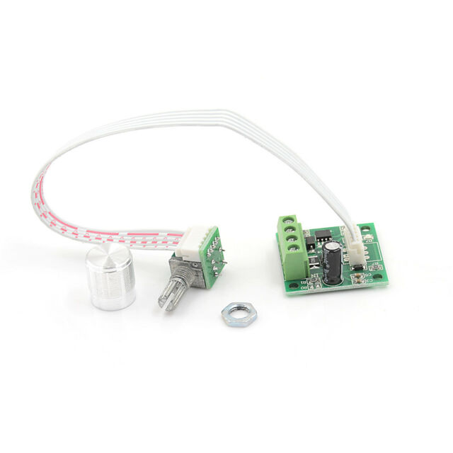PWM 1.8V 5V 6V 12V 2A Switch Variable Speed Regulator DC Motor Controller  pl