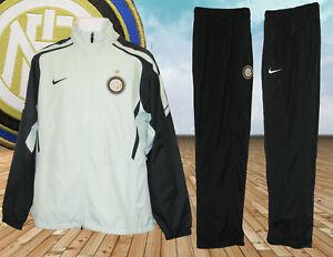 Animado Indulgente Condición  Nike Hombre Inter de Milán Football Club Chándal Auténtico Aqua Azul marino  Pequeño | eBay