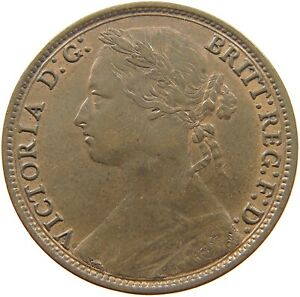 GREAT-BRITAIN-PENNY-1879-VICTORIA-t85-081