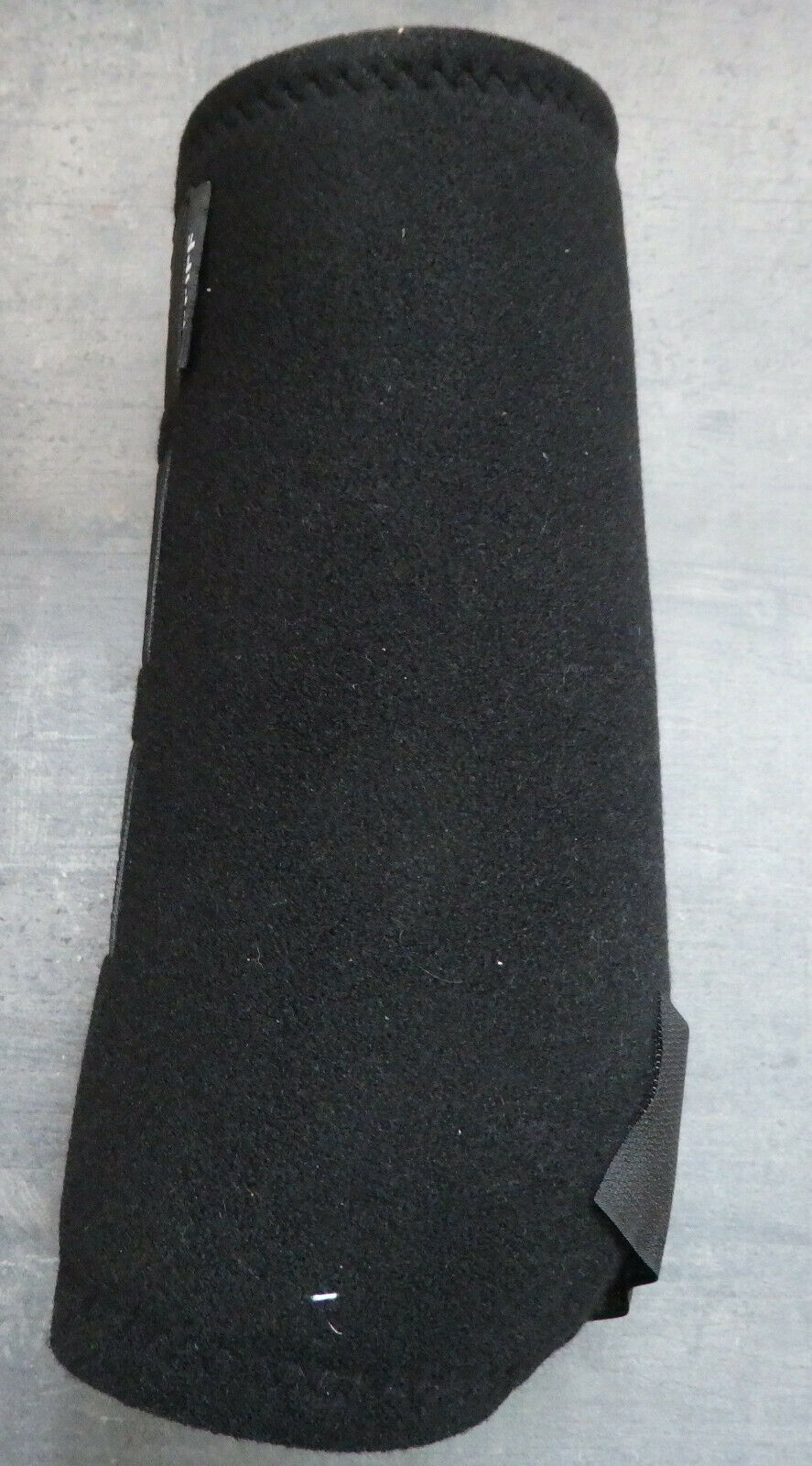 Pfiff Fesselkopf Neoprengamaschen black Gr.L, vorne,1 Paar