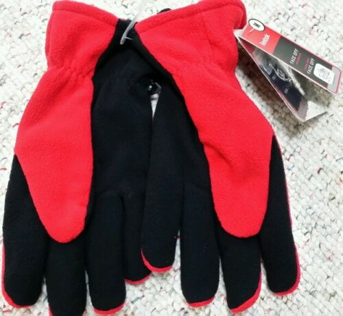 DETROIT RED WINGS REEBOK Fleece Gloves NEW with TAGS