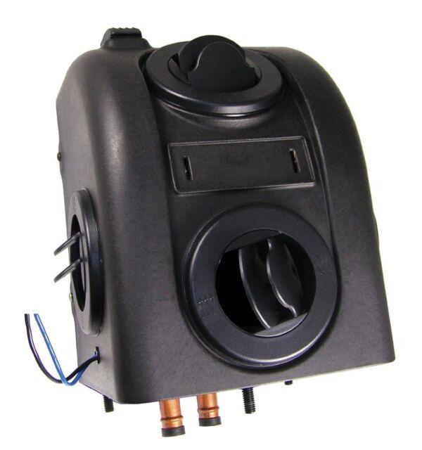 Skid Steer Cab Heater Hot Water 12 Volt,2 Speed Fan,200 CFM,6 Amps,13,200  BTUs