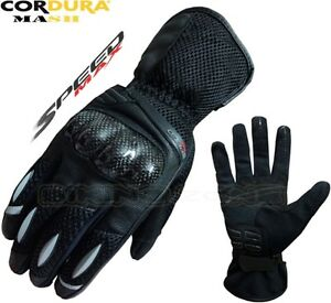 Air-Max-pour-Hommes-Ete-Ventilateur-Moto-Motocross-Treillis-Gants-Textile
