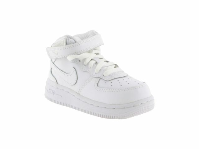 air force 1 bambino bianche basse