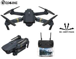 Drone Eachine E58 Appareil photo Fpv Hold Altitude 0,3 Mp avec 1, 2 ou 3 batteries #