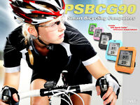Smart Bicycling Computer W/gps Performance & Nav. Analysis Software Psbcg90