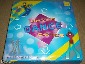 NINTENDO-WII-amp-GAMECUBE-DANCE-PARTY-MAT-GAME-CONTROLLER-GAMEPAD-Dancing-Stage