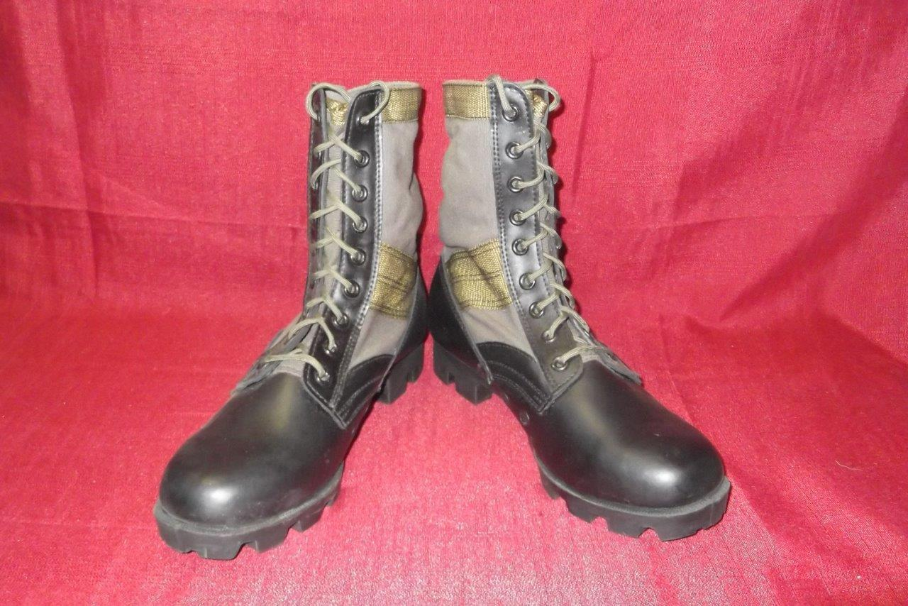 Military 10 Regular Grün Jungle Combat Stiefel Stiefel Stiefel USGI Men Boys Vietnam Vintage 375 e0698c
