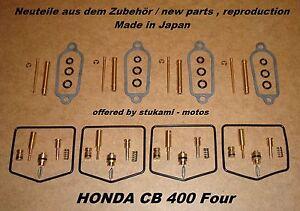 Honda-CB-400-Four-carburateur-reparation-kit-Vergaser-Rep-Set-carburator-set