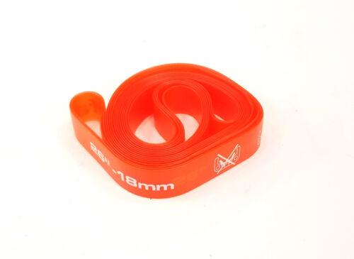"Red Pair Zefal 26/"" x 18mm PVC Rim Tape"