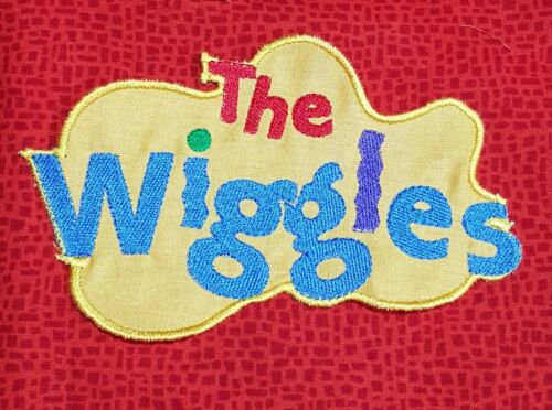 Embroidered WIGGLES LOGO MOTIF Large