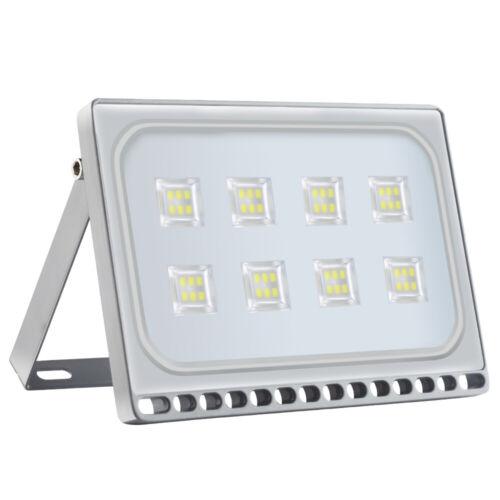 50W Kaltweiβ LED Flutlicht Fluter Außenleuchte Baustrahler Außenstrahler IP65