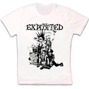 Punk-Rock-explotados-Regalo-Genial-Retro-Unisex-T-Shirt-451