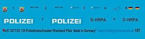 Peddinghaus-1-87-3217-EC-135-Polizeihubschrauber-Rheinland-Pfalz