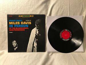 1961-Miles-Davis-Friday-Night-In-Person-LP-Columbia-Six-Eye-CS-8469-VG-VG