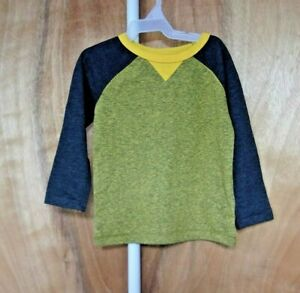 TODDLE-BOY-039-S-SIZE-12-18-mos-OLD-Navy-LONG-SLEEVE-T-SHIRT-NWT