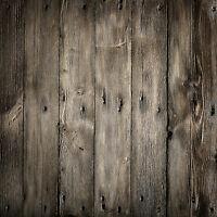 Wooden Thin Wall Vinyl Photography Props Retro Background Backdrop 5x3ft Zz26
