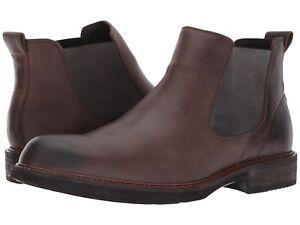 Details about Men's ECCO Kenton Chelsea Boots, 512034 02072 Size 12 12.5 Coffee NIB