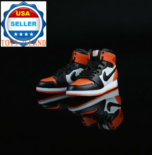 """1//6 Nike Air Style Sneakers Shoes For 12/"""" Hot Toys PHICEN Male Figure ❶USA❶"""