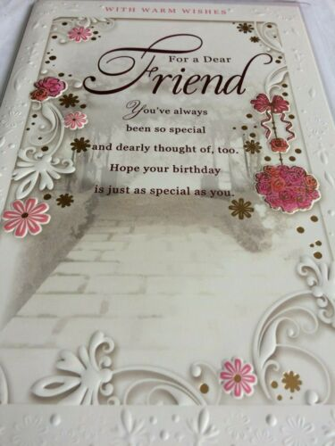 Large friend birthday cards.
