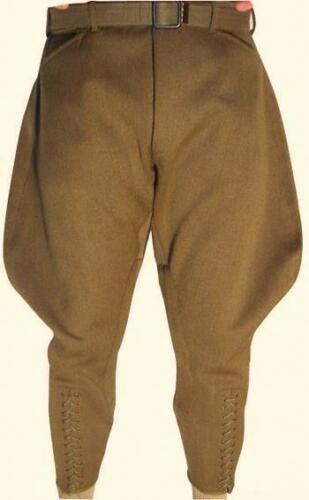 Steampunk Women's Pants, Leggings & Bloomers    Mens Khaki Jodhpurs Breeches Equestrian Baggy Pants Horse Riding Sports Breeches £88.00 AT vintagedancer.com