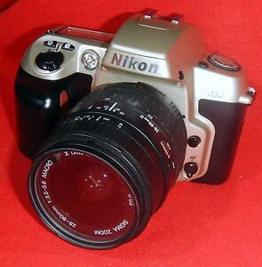 Nikon-N60-with-a-28-80-Battery-tested-and-working
