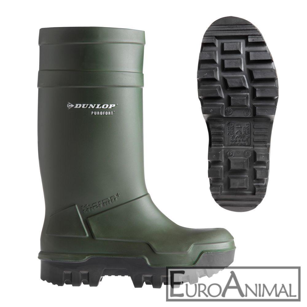 Gummistiefel Dunlop Purofort Thermo + Plus S5 Arbeits-Stiefel Sicherheitsstiefel