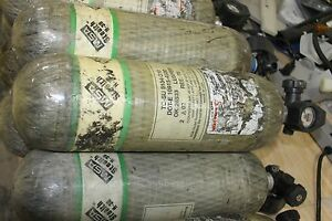 Used-good-condition-MSA-Stealth-H-30-carbon-SCBA-bottle