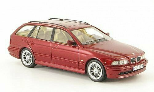 NEO MODELS BMW 520i Touring (E39) Metallic dark re 1 43 43301