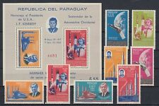 Raumfahrt - Space   Paraguay  1349-56 + Block 60  Wernher von Braun  **  (mnh)