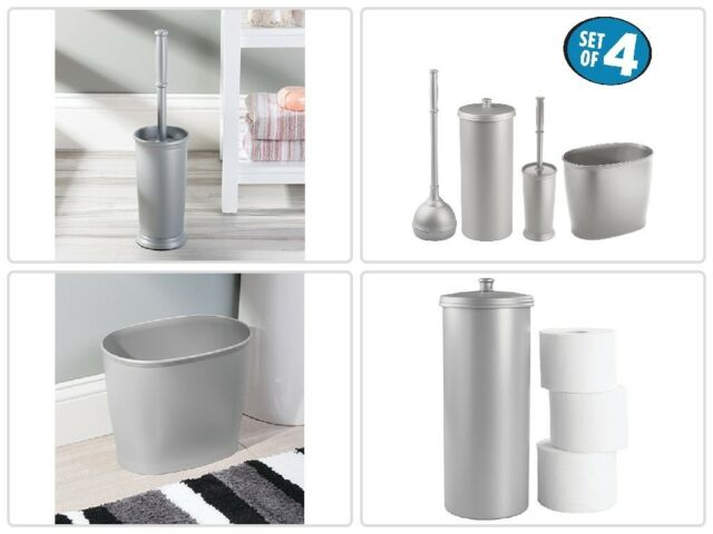 MDesign Bathroom Accessory Sets Accessories Set Toilet Can Plunger With Holder