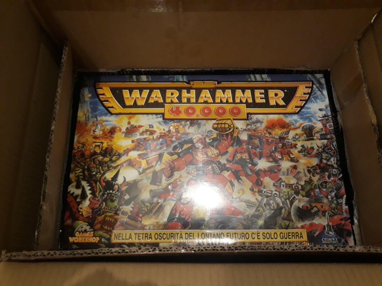 GW Warhammer 40K Warhammer 40,000  (2nd edizione) scatola  negozio online