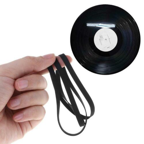 Common Flat Rubber Belt Cassette Tape Machine Pulley Drive Belt for Recorders