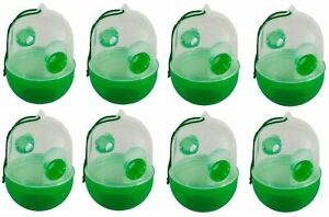 8x-Wasp-Trap-Green-Defense-Catchers-Insect-Trap-Hornissenfalle-Bow-Tie-New