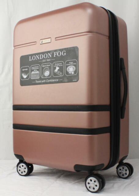 London Fog Southbury 29 Hard 8 Wheels Expandable Spinner Luggage Suitcase For Sale Online Ebay