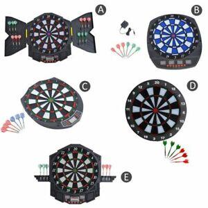 DART-BOARD-ELECTRONIC-DARTBOARD-LED-SCORE-DISPLAY-SOFT-TIP-MANY-GAMES-DARTS