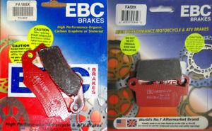EBC-Carbon-X-Front-amp-Rear-Brake-Pad-Set-Older-Honda-Kawasaki-Suzuki-Yamaha