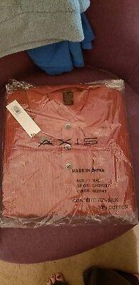 Silk /& Cotton MEDIUM NWT Men/'s Axis Mock Neck Sweater
